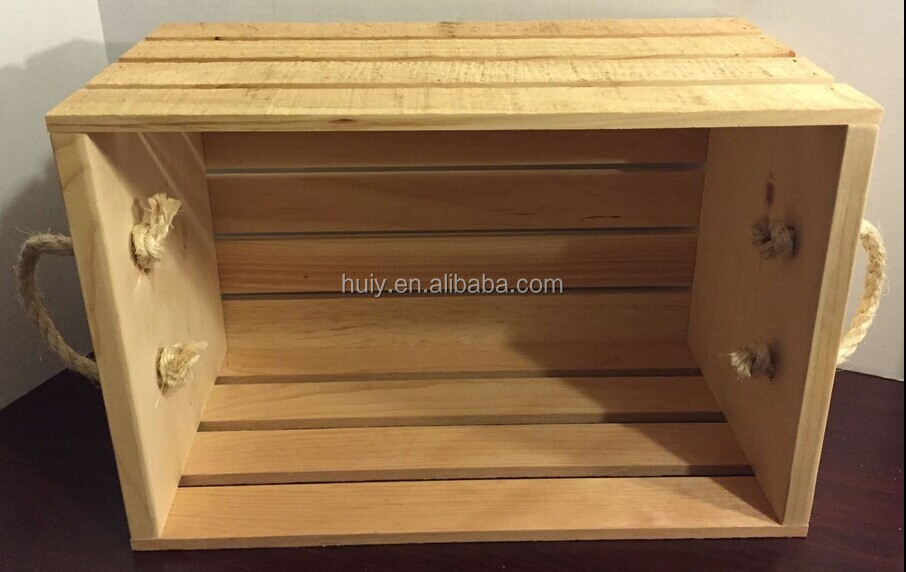 Cheap wooden wine crates cheap wooden crates cheap wooden for Where to buy used wine crates