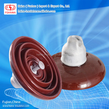 33KV Porcelain 70KN Disc Suspension Insulator fuzhou Manufacturer