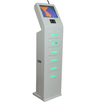chargers display stand HD screen digital locker card swiping cell phone charging kiosk