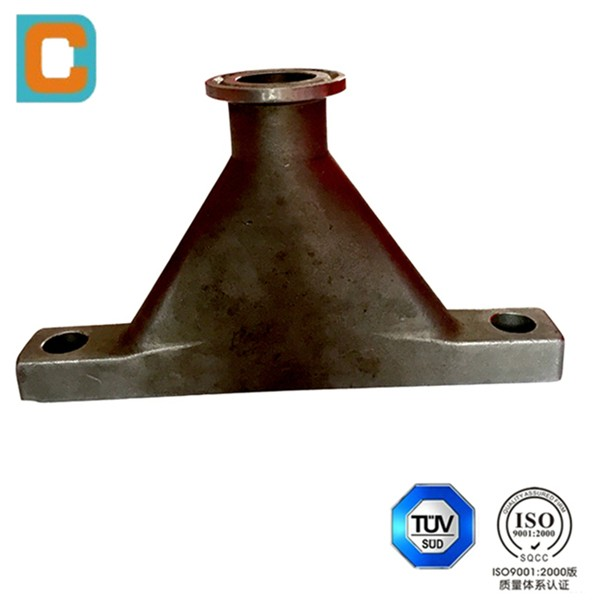 Custom made investment casting machinery part
