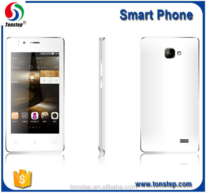 4.0 inch WVGA IPS 800*480 pixels, android 4.4 3G smart mobile phone for sale