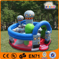 best seller unique design UFO inflatable jumping castle