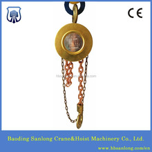 HBSQ type No Sparking Brass Chain Hoist