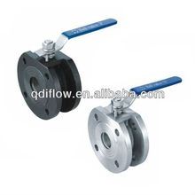 DN50-DN500 Italy type thin type wafer connection ball valve