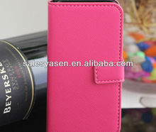 business classic style of pu leather cover case for iphone 5