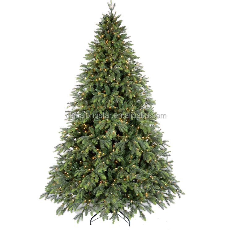 LED Artificial Pine Christmas Tree with Lights