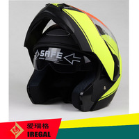 DOT certificate approved flip up motorbike police helmet