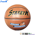 STREETK Brand custom leather basket balls inflated leather balls pu basketball ball