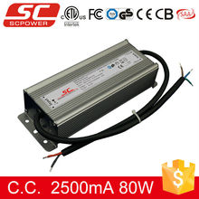 KI-302500-TD triac dimmable 80W 2500MA IP67 led tube light power supply