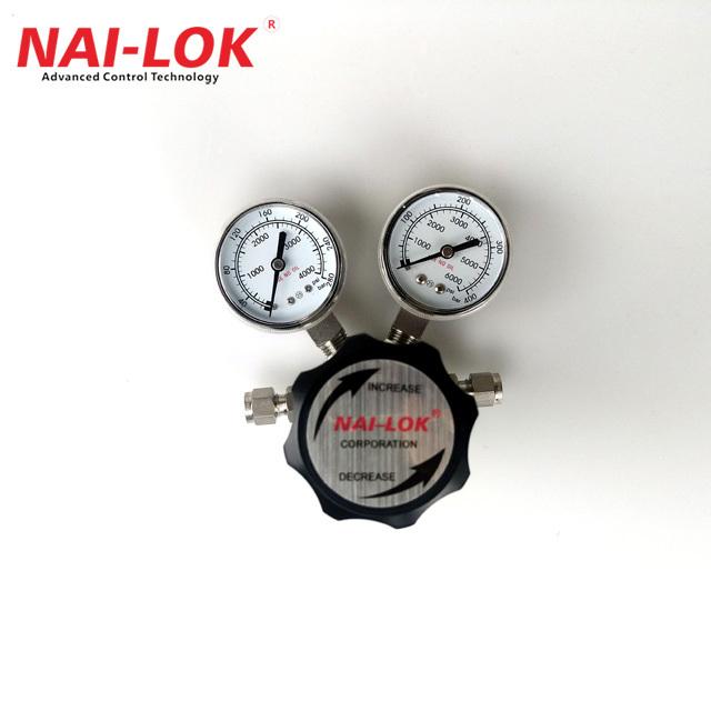High pressure air or gas two stage pressure regulator 4000 PSI