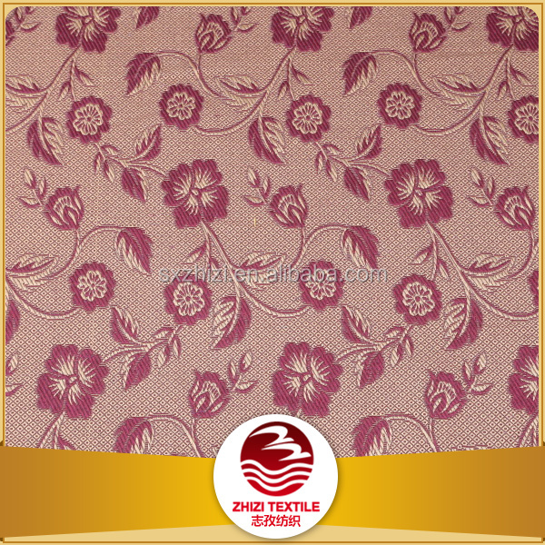 Export to ZA polyester cotton blend yarn dye embroidery curtain fabric