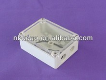 Waterproof Plastic Enclosures For Electronics With Clear Lid, PWP022
