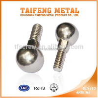 nickel coated carbon steel step ball head screw