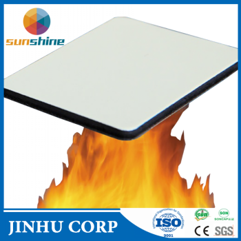 Fire-resistant facade aluminium composite panel, Sunshine Chinese factory