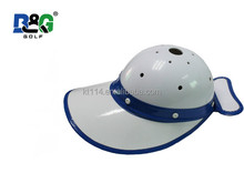 quality hard plastic Golf Caddy Cap Blue