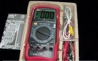 UNI-T UT55 Standard Auto Power off DMM Digital Multimeters W/ Temperature Test LCR Meter Ammeter Multitester