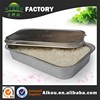 Full size aluminum foil food container for catering service