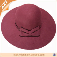 Winter new fashion unique hats pith helmet large brim floppy hat