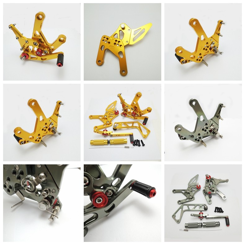 Motorcycle Adjustable Rearsets For YAMAHA R1 R6