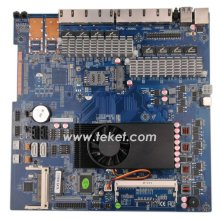 Firewall Network Server Router intel celerlon 1037u dual core motherboard C1037LE with 8 LAN Ports 12VDC in