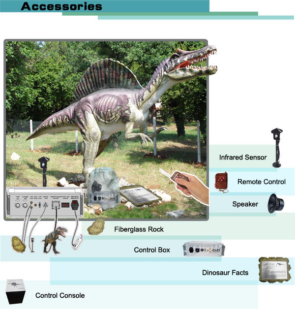 Lifelike Animatronic Dinosaur Replica For Sale