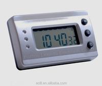 Plastic mini alarm clock for travel