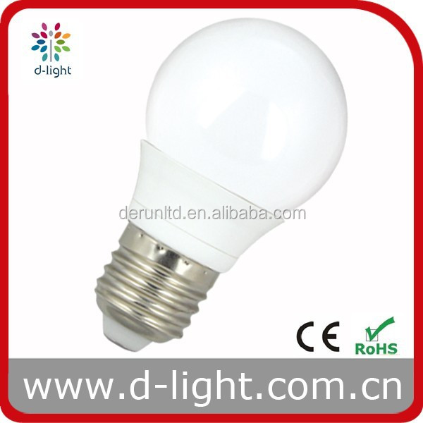 Global Bulb 3W Plastic Aluminum G50 LED Light