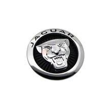 70mm Black Growler Front Grille Emblem Badge Roundel for Jaguar