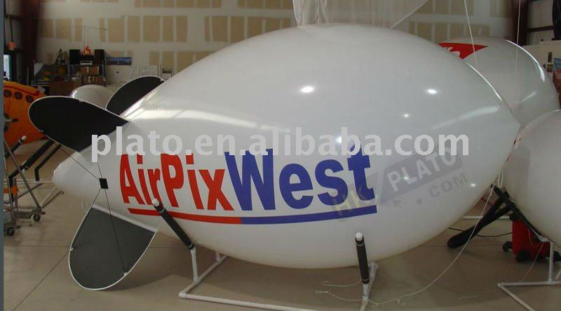 Durable Advertising inflatable camera airship
