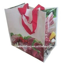promotional reusable Laminated PP Woven Bag
