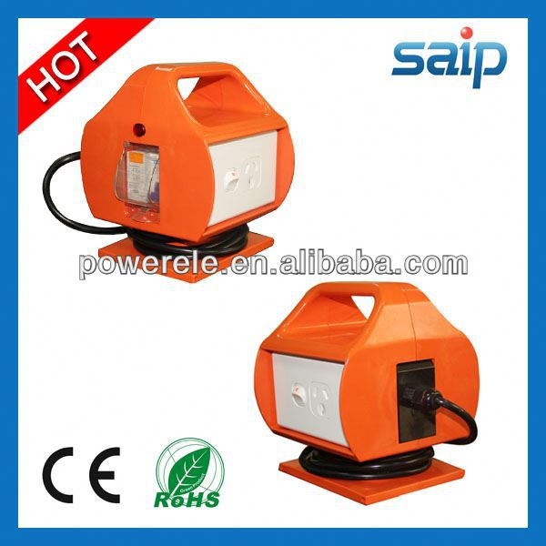 China Industrial SG-10 rcd protected safety socket