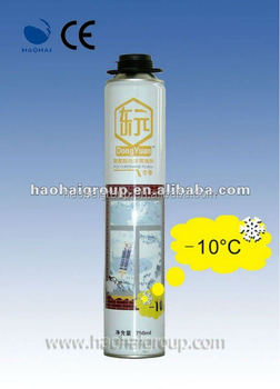 Professional Winter 750ml PU expanding Foam