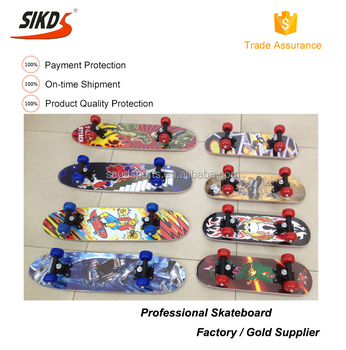 Hot selling kids skateboard wood skateboard longboard kids cheap longboards