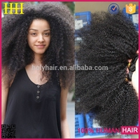 NEW style 100% unprocessed virgin afro curly kinky bulk braiding hair