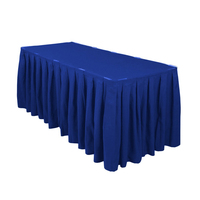 fitted table skirt designs for wedding party event company restaurant
