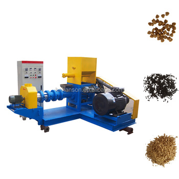 High-grade Chicken Livestock Shrimp Soybean Grain Corn Homemade Dry Type Fish Feed Making Extruder Pellet Machine