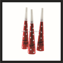 red party horns,kids party favors