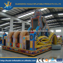 Hot selling Robot Inflatable fun city/inflatable city for kids for adults