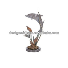 Wholesale Marine Sea Life Dolphin Outdoor Statues
