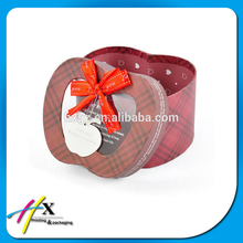 Apple Shape Design Custom Box Gift Paper Gift Packaging Box With PVC Window