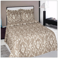 Alibaba sale home goods satin quilted bedspread