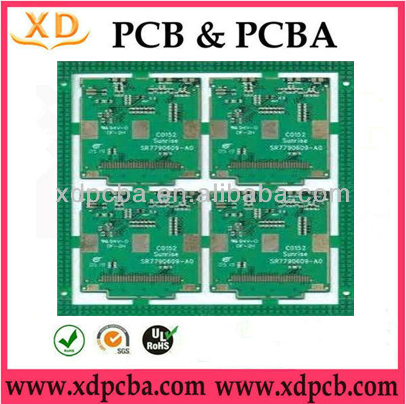 Multilayer Automation equipment FR4 PCB in shenzhen PCB factory