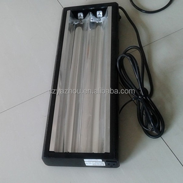 UL approve 24w HO grow light fixture 2 lamp 220v 50Hz