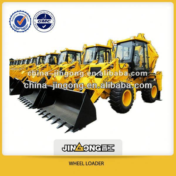wheel tractor backhoes kubota WZ30-25 Backhoe Loader with 1 cub meter construction machine