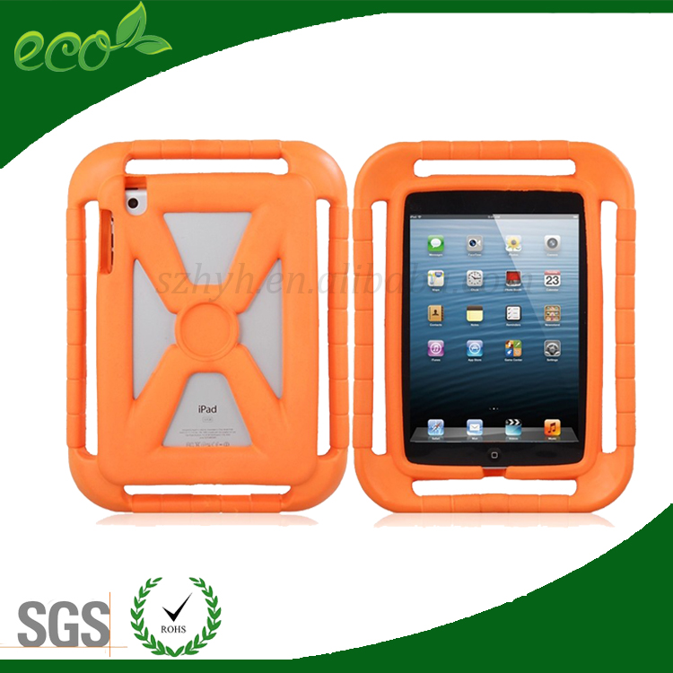 2016 newest EVA shock proof tablet pc case,case tablet pc with handle for ipad mini 2