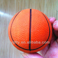 PU foam basketball ball toys for kids