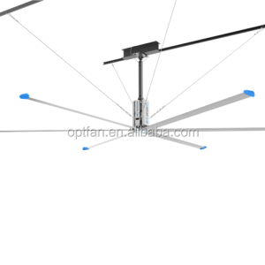 OPT18Ft(5.5M) HVLS large ass industrial ceiling low noise fan