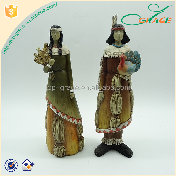 Graceful India home decorative crafts polyresin harvest decorations