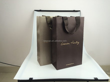 UK, Italy style popular luxury paper shopping bag,vintage style paper bag