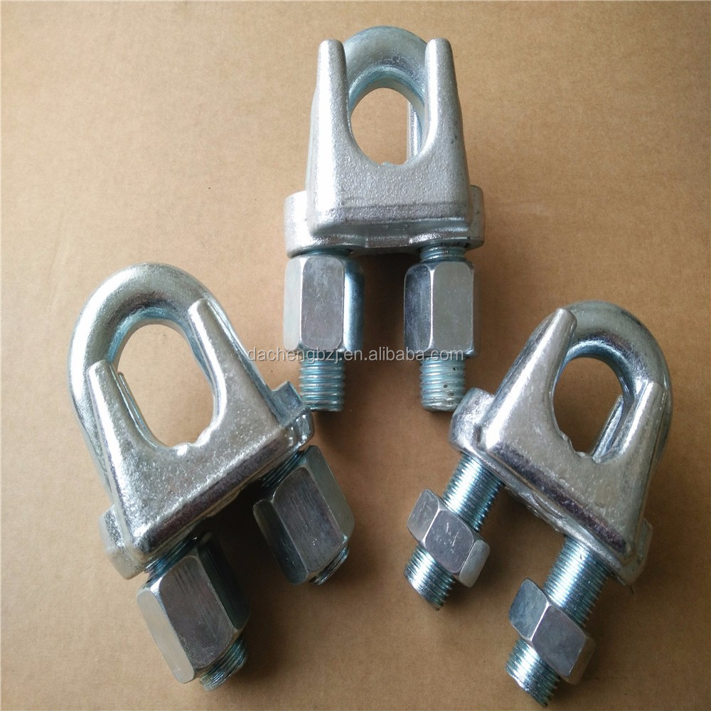 zinc plating heavy duty Wire Rope Clip